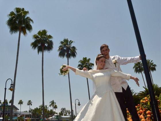 Wedding couple in Orlando