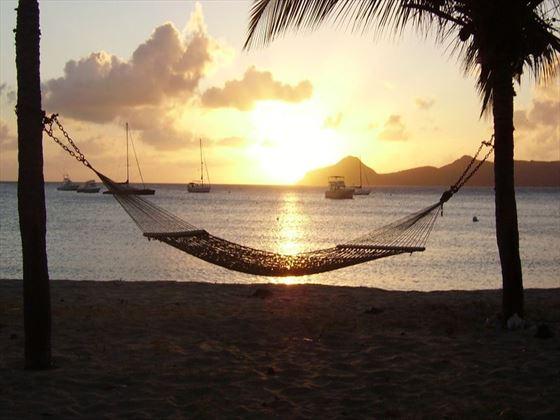 Relaxing honeymoon times await