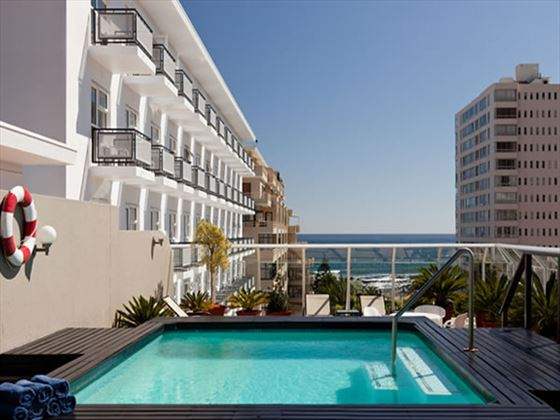 Outdoor pool at Protea Hotel Sea Point