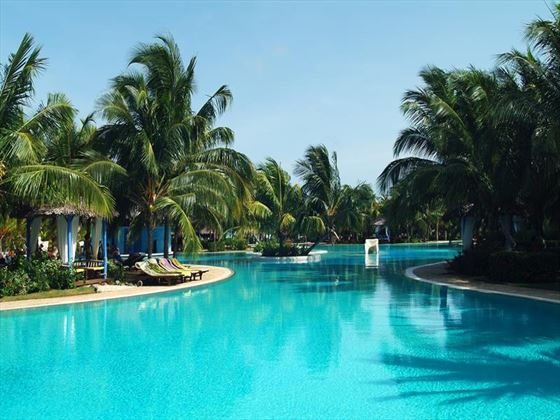 Outdoor swimming pool at Paradisus Varadero
