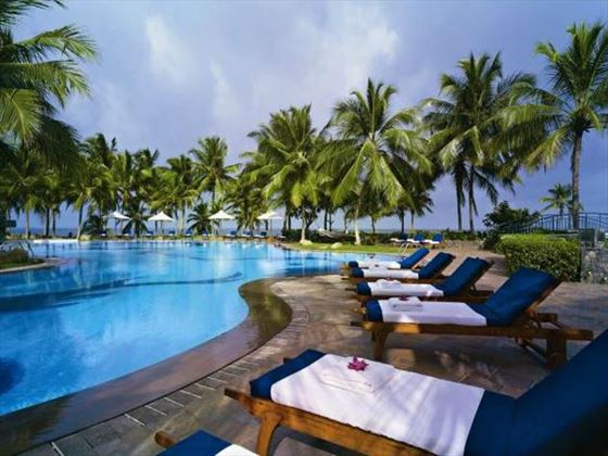 Outdoor swimming pool at Vivanta by Taj