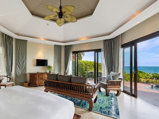Beachfront Plunge Pool Suite at Outrigger Koh Samui