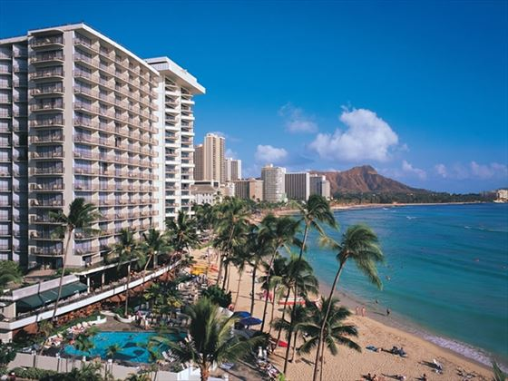 Outrigger Waikiki on the Beach Hotel, Hawaii