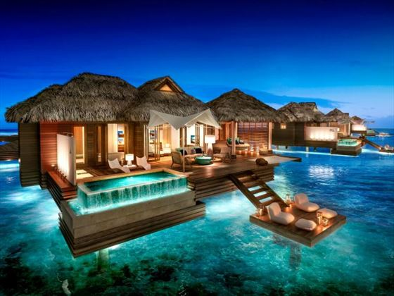 Over-the-Water Villas