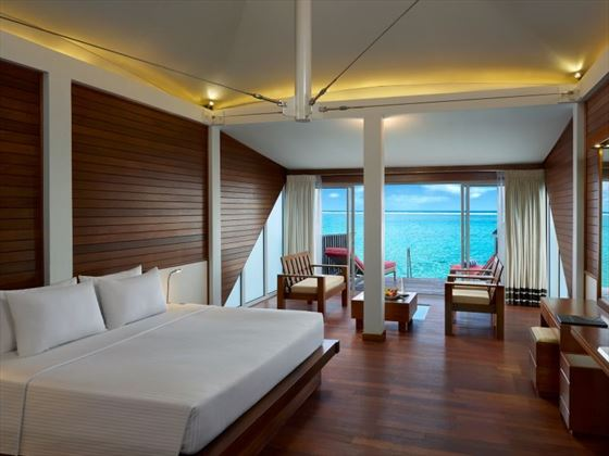 Over Water Bungalow Interior
