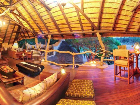 Panoramic view of Jock Safari Lodge interior