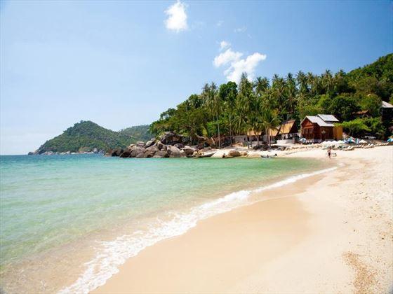 Panviman Resort Koh Phangan Hotel private beach
