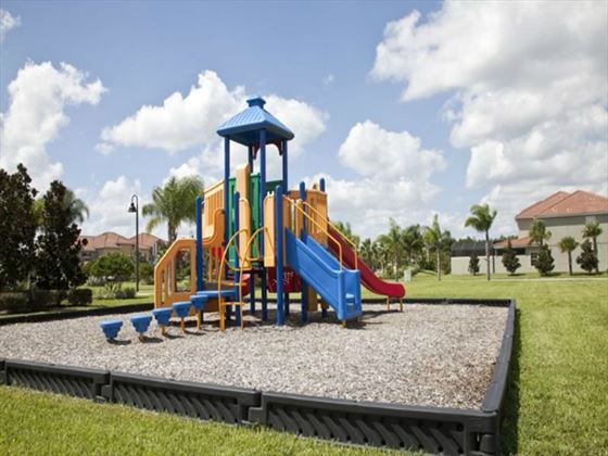Paradise Palms Resort playground