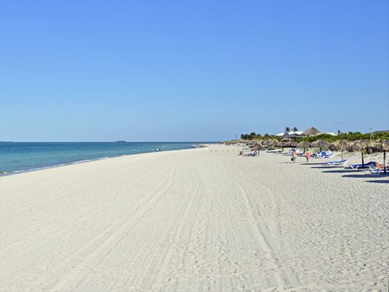 The beach at Paradisus Princesa Del Mar