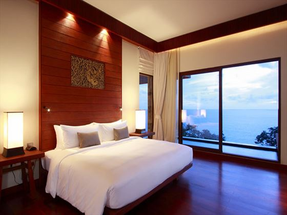Paresa Grand Villa bedroom