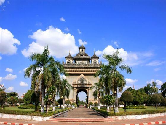 Patuaxi in Vientiane