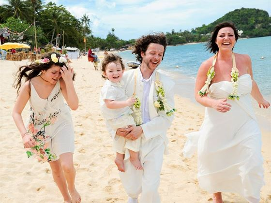 Weddings at the Peace Resort Samui