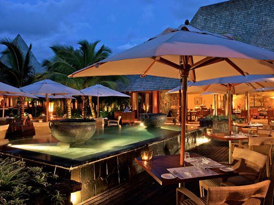 Pebbles restaurant at Shanti Maurice A Nira Resort