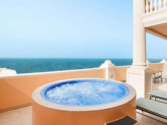 Penthouse Jacuzzi at Kempinski Hotel & Residence Palm Jumeirah