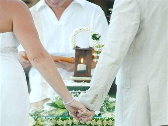 Western style ceremony, Phi Phi Island Village Beach Resort
