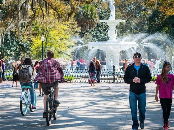 Cycling in Savannah