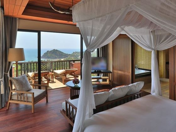 Pimalai Resort & Spa, Hillside Ocean View Private Pool Villa Two Bedroom