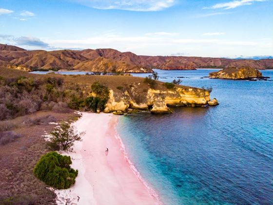 Pink Beach, Komodo National Park