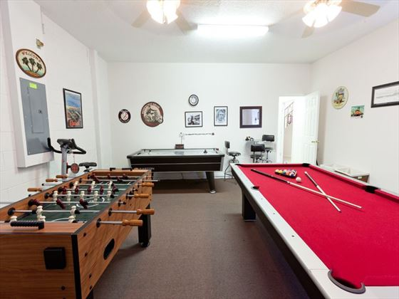 Typical games room