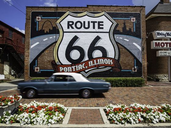 Pontiac on Route 66
