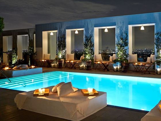 Pool at the Mondrian Hotel