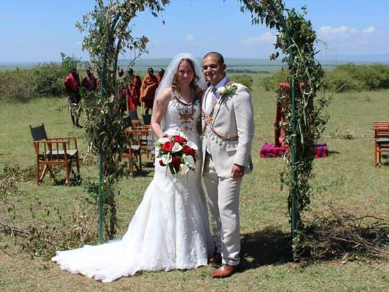 Porini Lion Camp wedding