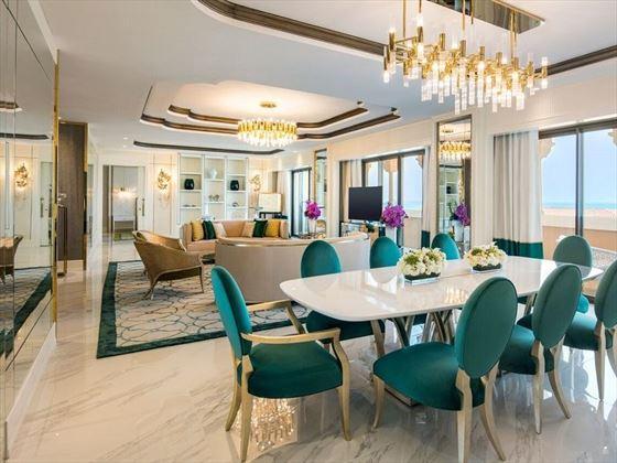 Presidential Suite Living Room, Rixos Saadiyat Island