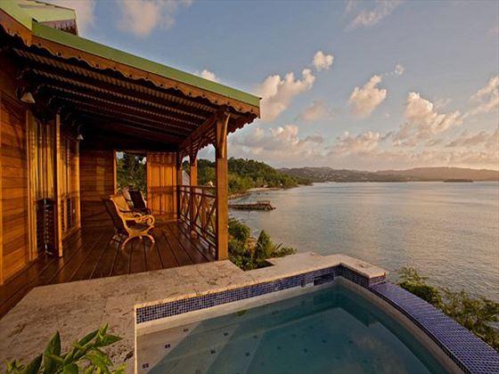 Private pool at Calabash Cove
