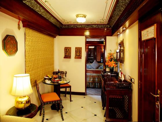 Suite Living Room on the Maharajas Express