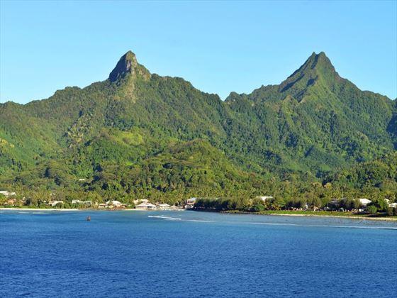 Rarotonga mountains
