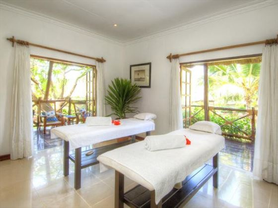 Ras Nungwi spa room