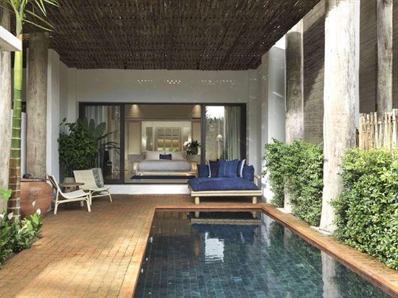 Kraam Pool Suite - Exterior