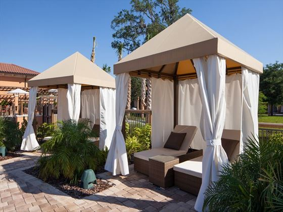 Pool Cabana at Regal Oaks