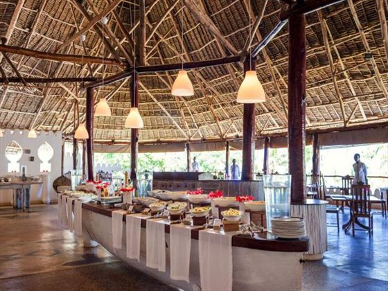 Restaurant at Sandies Mapenzi Beach Club