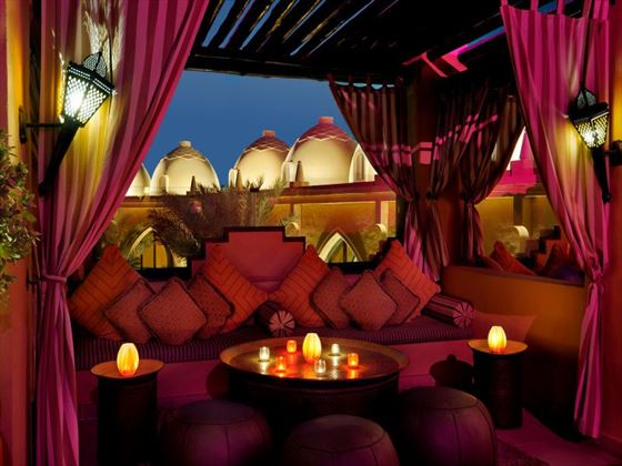 Rooftop Terrace at One&Only Royal Mirage Arabian Court