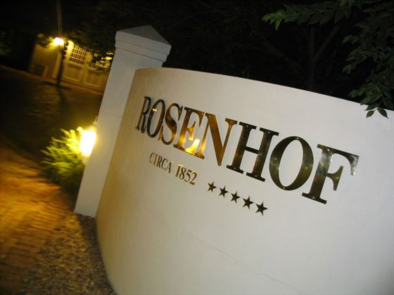 Rosenhof entrance