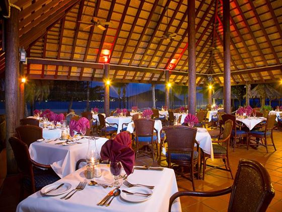 Royal Palm restaurant at Palm Island