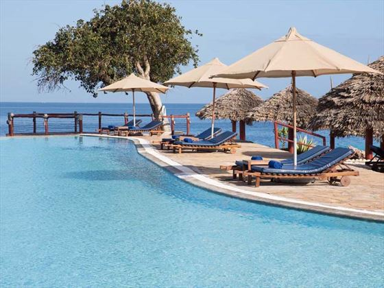 Royal Zanzibar Beach pool loungers