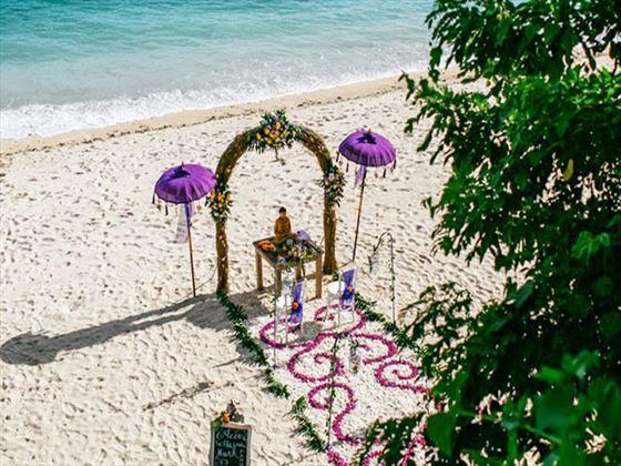 Views over your Samabe Bali Resort & Villas wedding