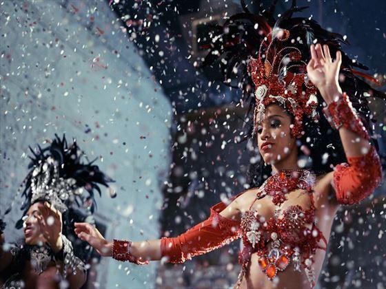 Samba dancers, Brazil
