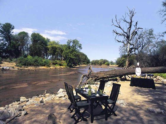 Samburu Intrepids outdoor dining