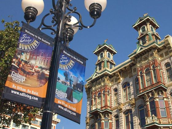 US Grant is located in San Diego's Gaslamp Quarter