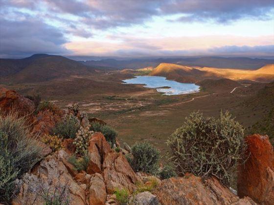 Landscape surrounding Sanbona Wildlife Reserve