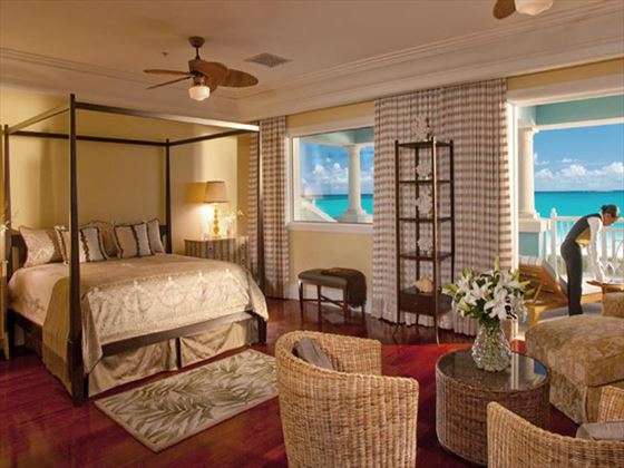Sandals Emerald Bay Royal Estate Beachfront Suite