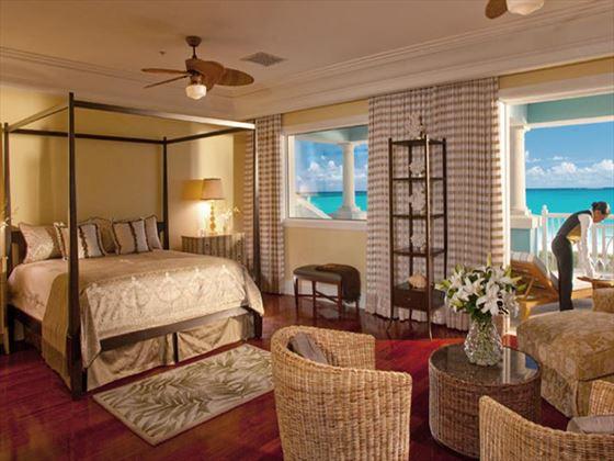 Sandals Emerald Bay Royal Estate Beachfront Suite