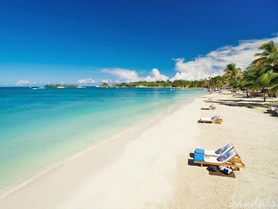 Sandals Negril Beach Resort & Spa beach