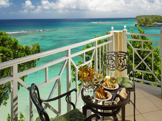 Sandals Royal Plantation Ocho Rios balcony