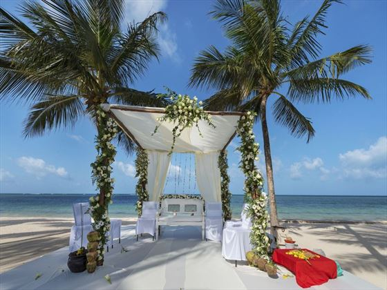 Your wedding venue, Sandies Tropical Village