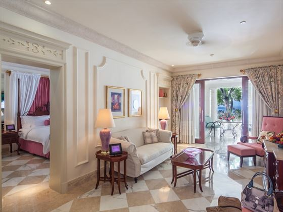 Sandy Lane suite interior