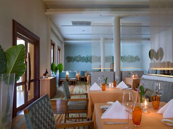 Sassi restaurant at Emerald Cove Resort
